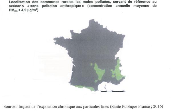 communes de France les moins polluées